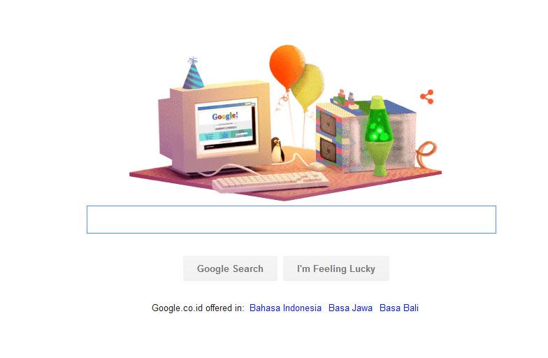 17 tahun google