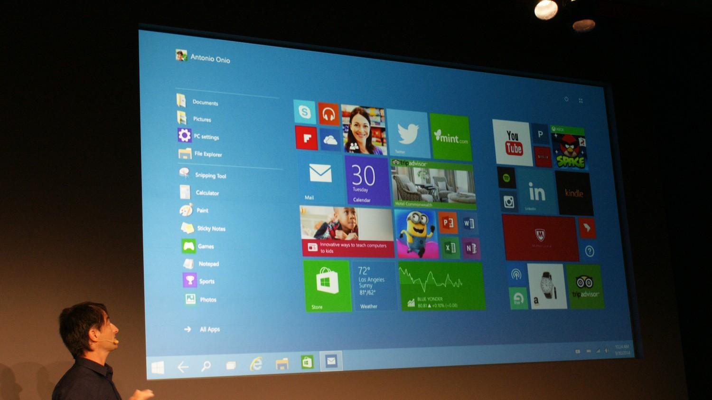 launch Windows 10